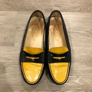 TOD'S Patent Leather Loafers Size 37